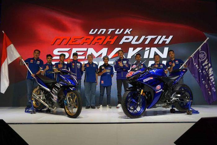 Pembalap Yamaha Racing Indonesia 2018