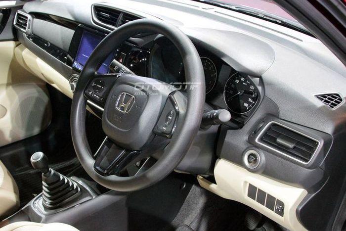 Interior All New Honda Amaze