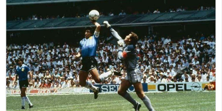 Gara-gara Jersey Maradona di Era Legendaris, Mantan Pesepak Bola Ini Diburu Banyak Orang