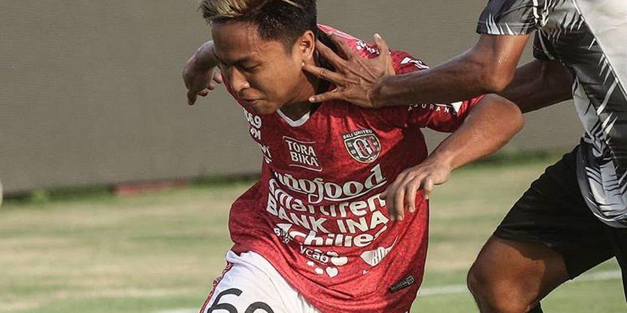 Winger Bali United Semakin Termotivasi Berikan Performa Terbaik