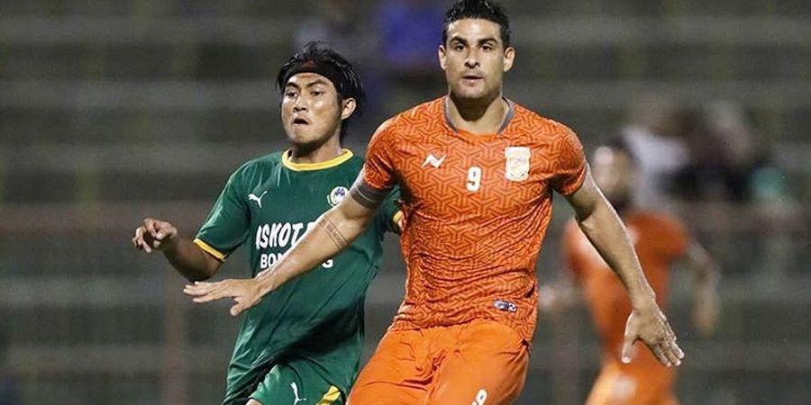 Ditinggal Pelatih Fabio Lopez, Borneo FC Pesta Gol di Bontang