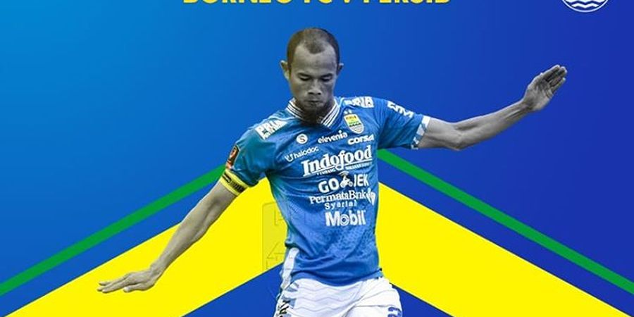 Piala Indonesia - Borneo FC Ditahan Persib Bandung pada Babak Pertama