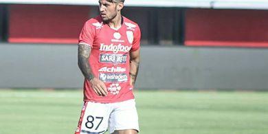 Cedera Pulih, Stefano Lilipaly Siap Tampil pada Laga Bali United Vs PSIS