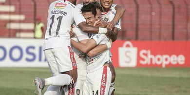Diwarnai Dua Kartu Merah, Bali United Tahan Imbang Kalteng Putra