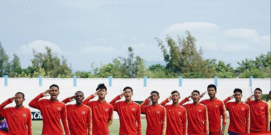 Link Live Streaming Timnas U-15 Indonesia Vs Filipina di Piala AFF