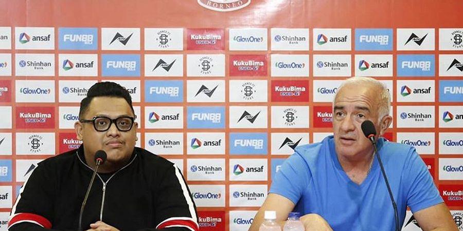 Presiden Borneo FC Pastikan 3 Pemain Masih Setia Bela Pesut Etam