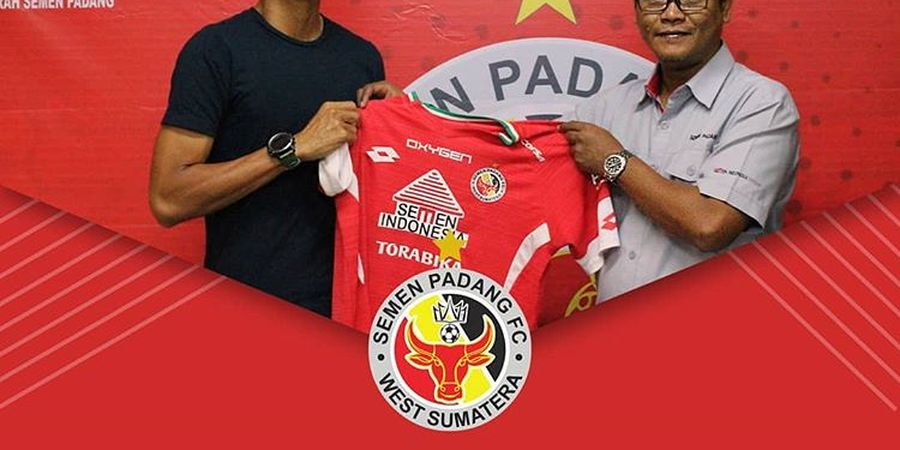 Dedi Gusmawan Usung Target Ini Bersama Semen Padang di Liga 1 2019