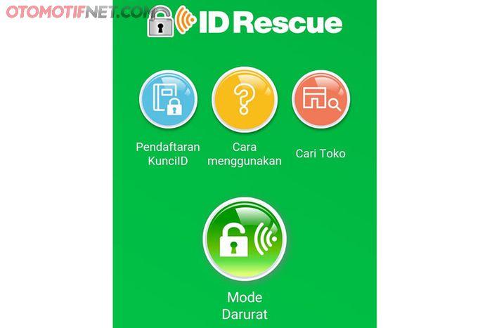 ID Rescue Yamaha berisi empat short cut utama