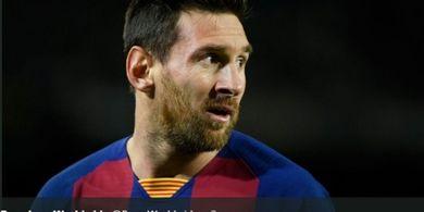Messi Kembali Torehkan Catatan Mentereng Bersama Barcelona