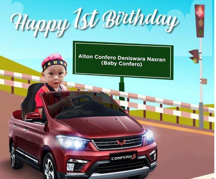 bayi Confero rayakan ulang tahun pertama