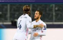 Sergio Ramos Tinggalkan Real Madrid, Eden Hazard: Bek Terbaik dalam Sejarah Sepak Bola