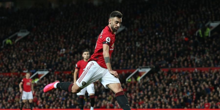 Penampilan Bruno Fernandes Buat Eks Striker Manchester United Terkesan