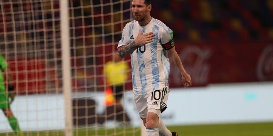 Copa America 2021 - Pecundangi Cristiano Ronaldo, Lionel Messi Sah Jadi Raja Gol Tendangan Bebas