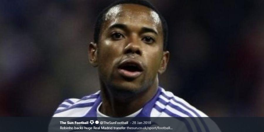 Robinho Minta Maaf atas Kelakuan Buruknya Saat Tinggalkan Real Madrid