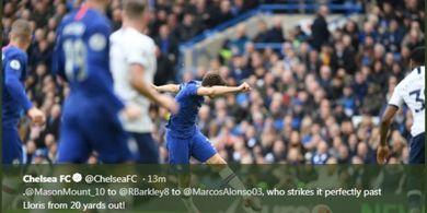 Hasil Liga Inggris - Chelsea Hantam Spurs Lewat Dua Gol Indah