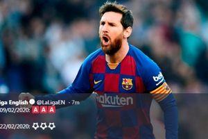 Messi Borong 4 Gol, Barcelona Gilas Eibar