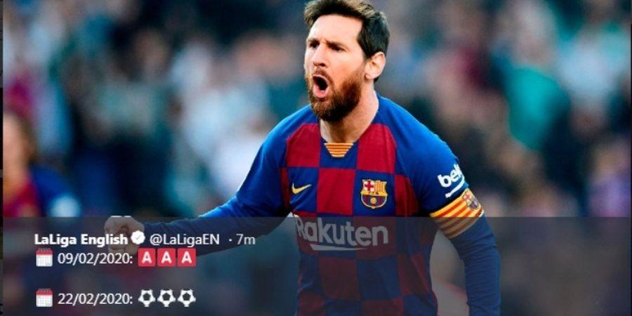 VIDEO - Gol Ajaib Lionel Messi Mengawali Petaka Eibar