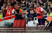 Arsenal Kebobolan, Aubameyang Buang Air di Tengah Pertandingan?