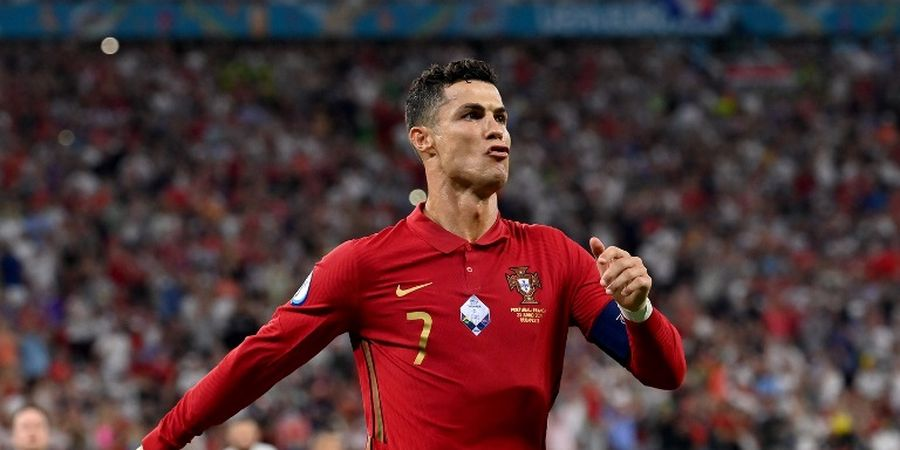 Satu Kalimat Cristiano Ronaldo Usai Jadi Top Scorer EURO 2020