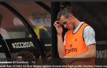 Masa Depan di Madrid tak Menentu, Gareth Bale Bermain Dengan Amarah