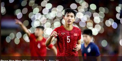 Pemain Vietnam, Doan Van Hau Sudah Minta Maaf dan Peluk Erat Evan Dimas
