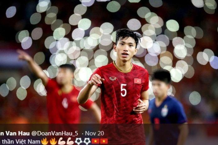Bek timnas U-22 Vietnam di SEA Games 2019, Doan Van Hau.
