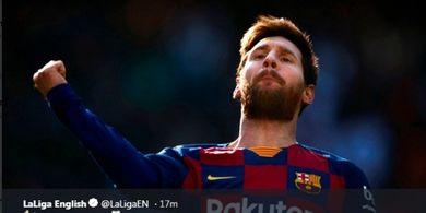 Lionel Messi, Pemain Pertama yang Berkontribusi untuk 1.000 Gol