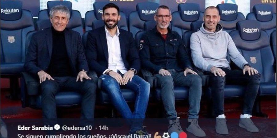 Asisten Pelatih Barcelona Juga Penggemar Lionel Messi