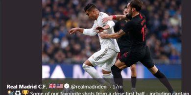 Hasil Liga Spanyol - Casemiro Istimewa, Real Madrid Hantam Sevilla