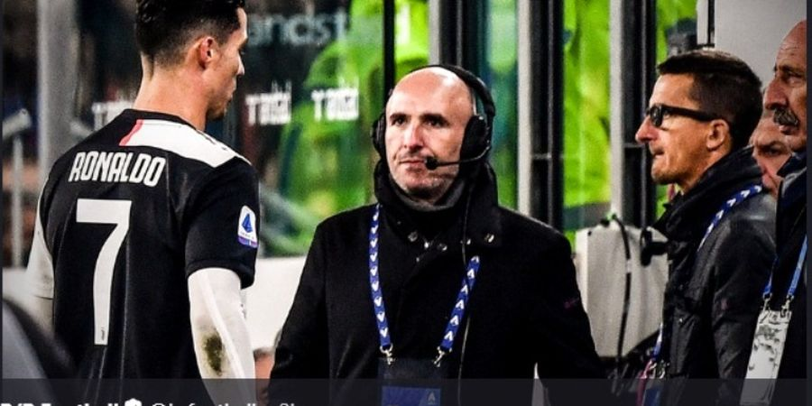 Ronaldo Diklaim Lontarkan Makian Parah ke Maurizio Sarri
