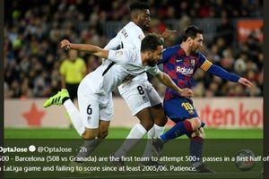 Skill Tingkat Dewa, Messi Bisa Kolongin Pemain Lawan Sambil Duduk