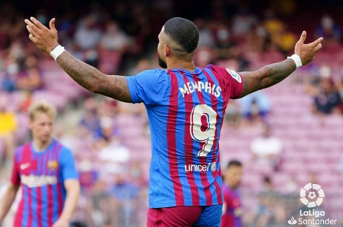 Memphis Depay sudah hampir samai rekor Zlatan Ibrahimovic dan Cesc Fabregas, meski baru bergabung dengan Barcelona.