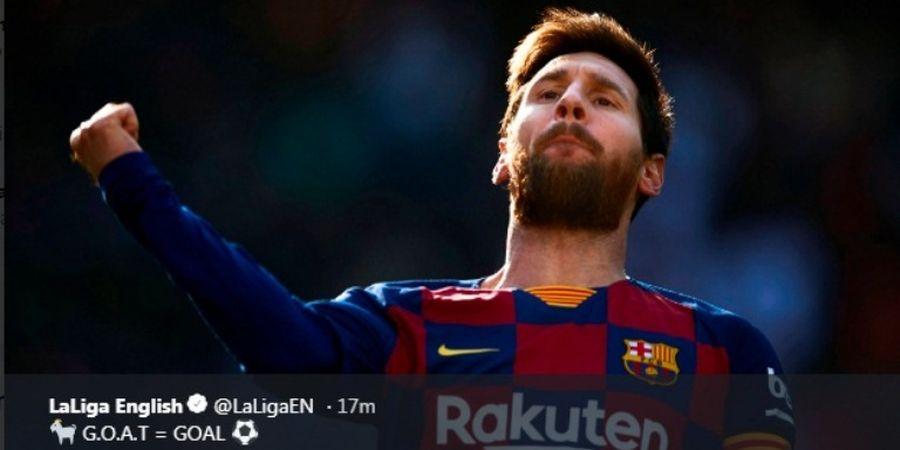 Klasemen Sepatu Emas Eropa - Quattrick Bikin Messi Melejit