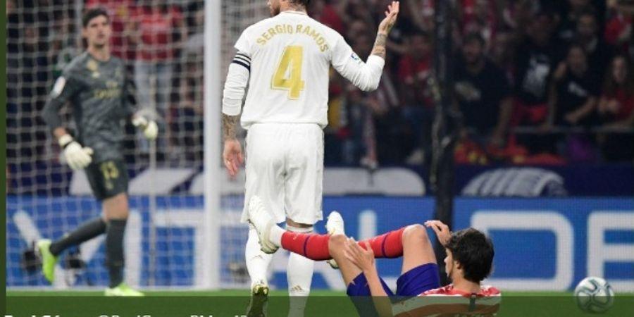 Gesture 'Tengil' Sergio Ramos ke Titisan Ronaldo pada Derbi Madrid