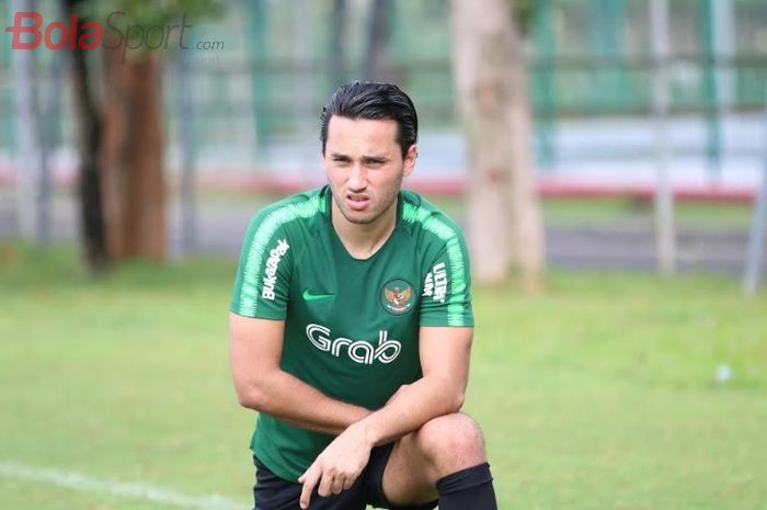 Mantan pemain timnas U-23 Indonesia, Ezra Walian.
