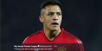 Dulu Merana Bareng Mourinho, Sanchez Kini Tak Diperhatikan Solskjaer