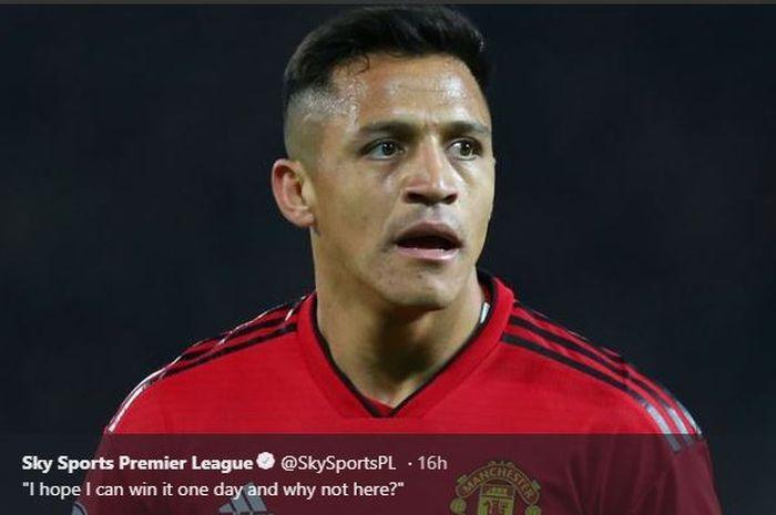 Pemain sayap Manchester United, Alexis Sanchez, optimistis dengan peluang timnya di Liga Champions musim ini.