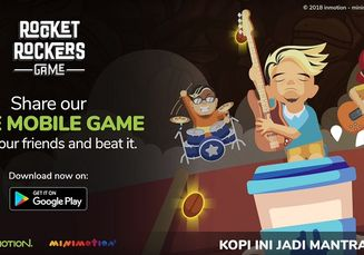 Waw! Band Pop Punk Asal Bandung 'Rocket Rockers' Bikin Game Android