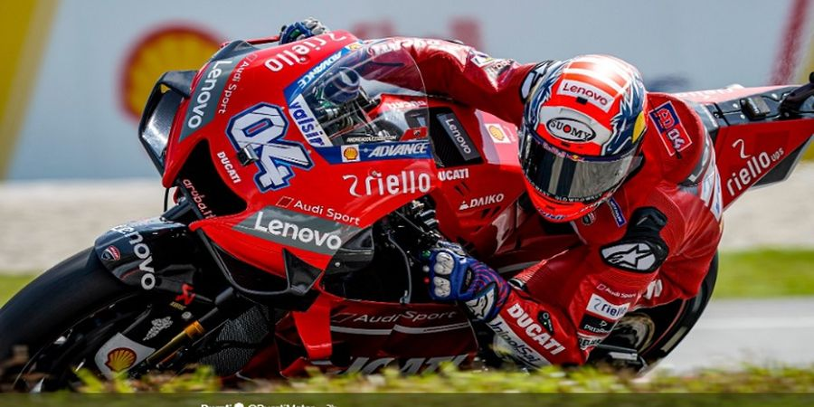 Andrea Dovizioso Setuju 2 Kompetitor Dapat Untung dari Ban Michelin Baru