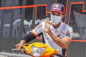Curhat Marc Marquez Usai Muncul di MotoGP Catalunya 2020 : Rasanya Senang Kembali ...