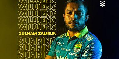 Zulham Zamrun Siap Penuhi Ekspektasi Pendukung Persib Bandung