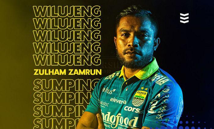 Resmi, Persib Bandung mendapatkan jasa Zulham Zamrun.