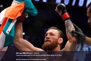 Orang Nomor Satu di UFC Sebut Conor McGregor Masih Berbahaya