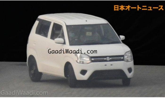 area fascia Suzuki Wagon R akhirnya terlihat