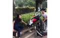 Honda Scoopy Dibanting Sana-Sini, Polisi Tunggu Itikad Baik Pemilik