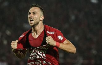 Ilija Spasojevic Lelang Jersey Bali United Juara Liga 1 2019