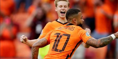 Hasil Babak I - Gol Tunggal Anak Baru Barcelona Bawa Belanda Unggul Sementara