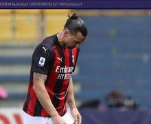 Gawat! AC Milan Terancam Kehilangan Zlatan Ibrahimovic Selama Tiga Tahun
