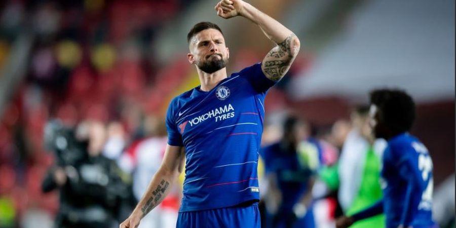 Masa Bodoh dengan Frustrasi, Chelsea Bakal Paksa Giroud Bertahan