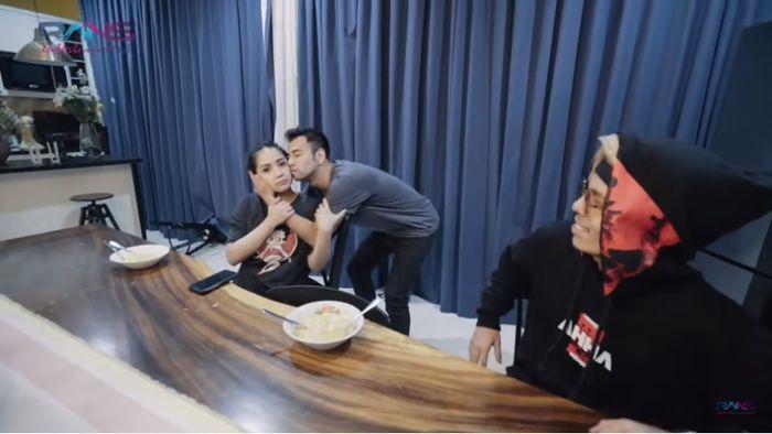 Pelukan Raffi Ahmad untuk Gigi sebagai permintaan maaf